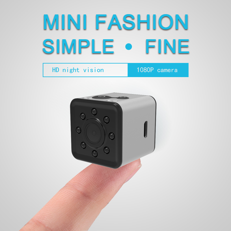 Wholesale Wifi Mini Sports Action Camera- FHD Resolutions, Loop-Cycle Recording, Motion Detection, Night Vision-Silver