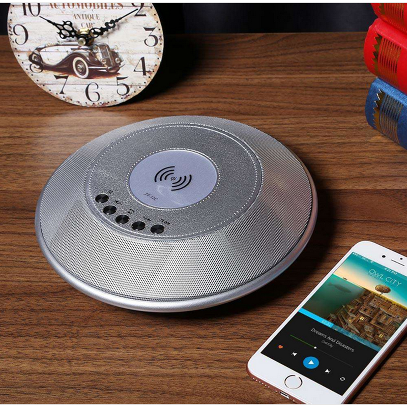 images/wholesale-electronics-2019/Wireless-Charger-Bluetooth-Speaker-NFC-1800mAh-Battery-TF-Card-Slot-FM-AUX-In-Clock-Alarm-Built-in-Microphone-plusbuyer_4.jpg