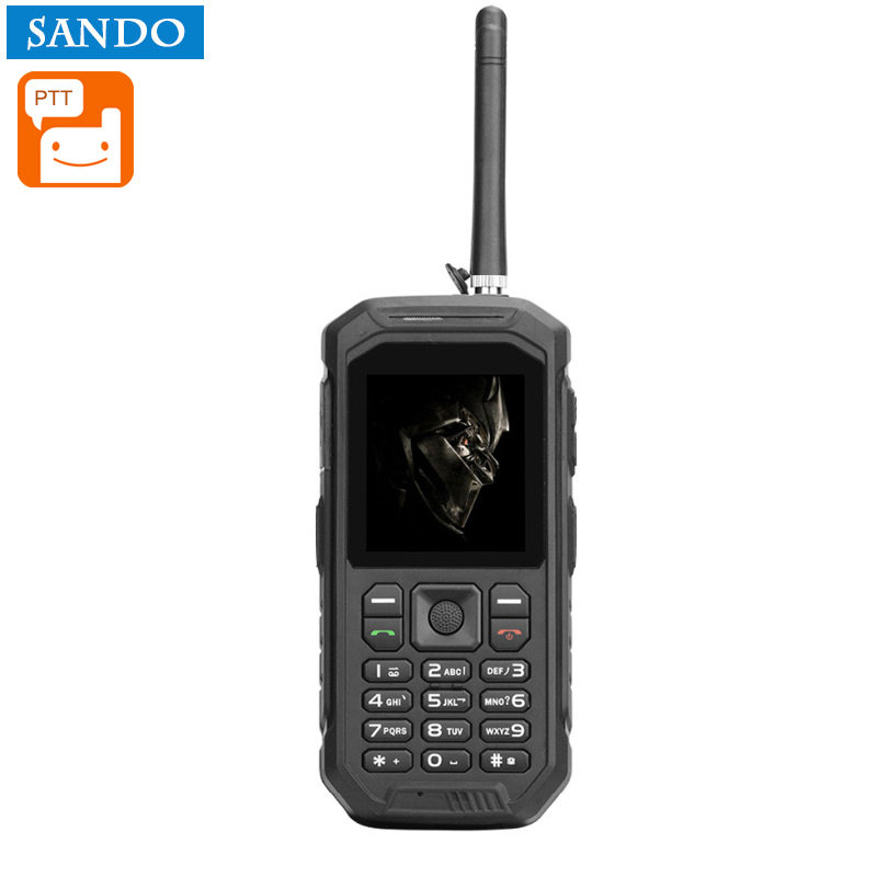 Wholesale X6 Rugged Phone - 2.4inch Screen, Walkie Talkie, IP68 Waterproof, FM Radio, 0.3MP Camera, Flashlight, 2500mAh Battery (BlACK)