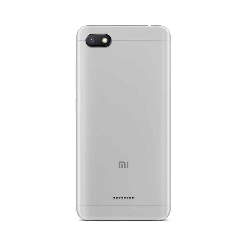 Xiaomi Redmi 6A Android Phone - 5.45 Inch Screen, Quad Core, Bluetooth, GPS, Dual SIM Card, TF Card Slot Up to 256GB, 4G (Gray)