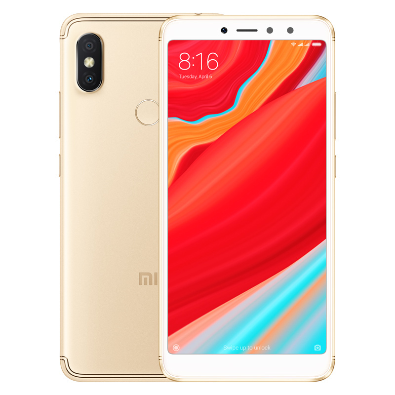 Wholesale Xiaomi Redmi S2 Smartphone - 5.99 Inch Screen, Octa Core, Dual SIM Slot, Fingerprint, 4G (Gold)