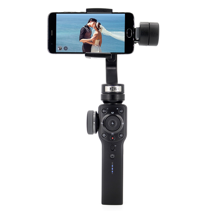 Wholesale Zhiyun Smooth 4 Smartphone Handheld Gimbal - 3-Axis, Portable Stabilizer for iPhone, Android Phone, GoPro Action Camera