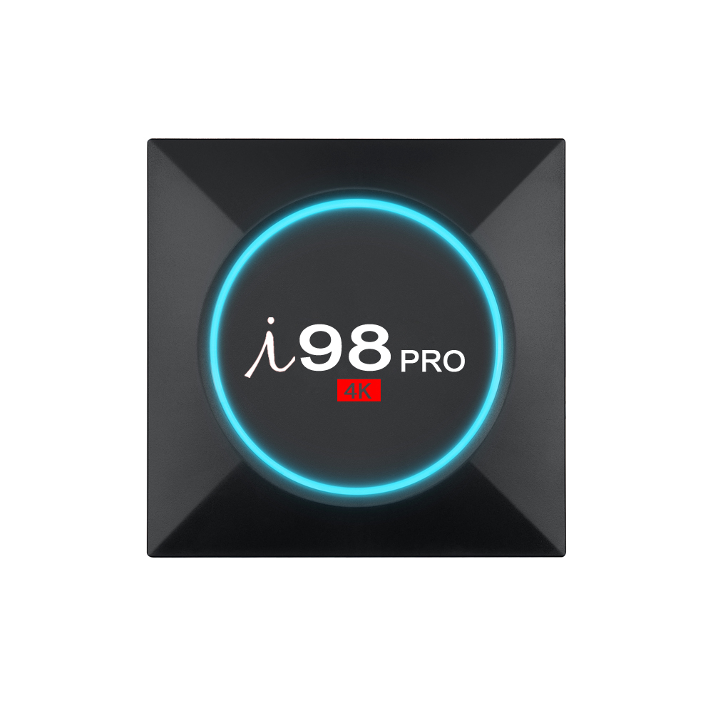 Wholesale i98 PRO Android TV Box4K Support, Quad-Core CPU, 2GB RAM, Google