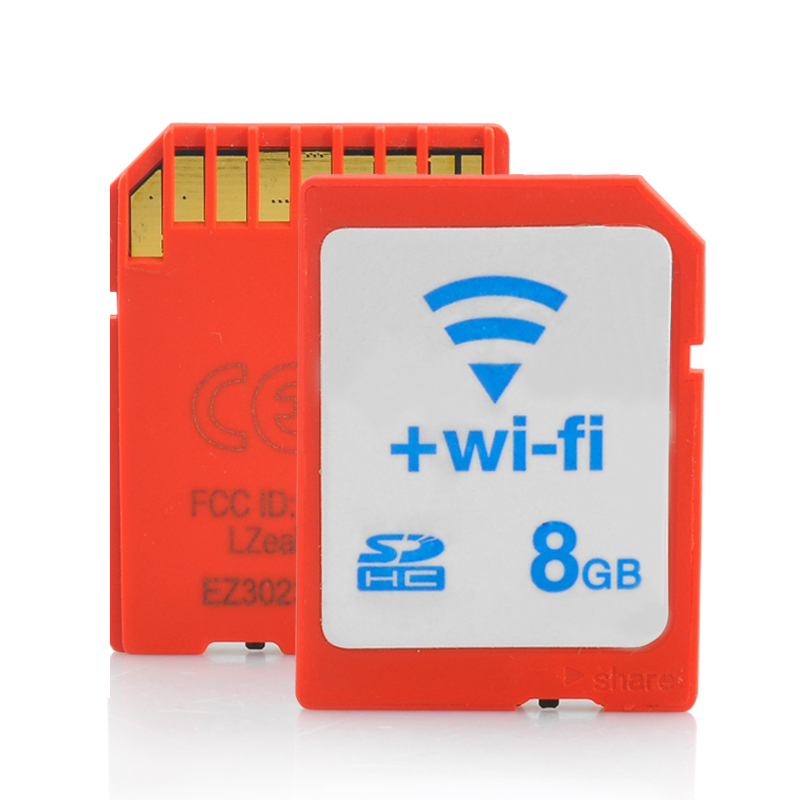 Wholesale 8GB WiFi SD Card (Class 10, Plug and Play)