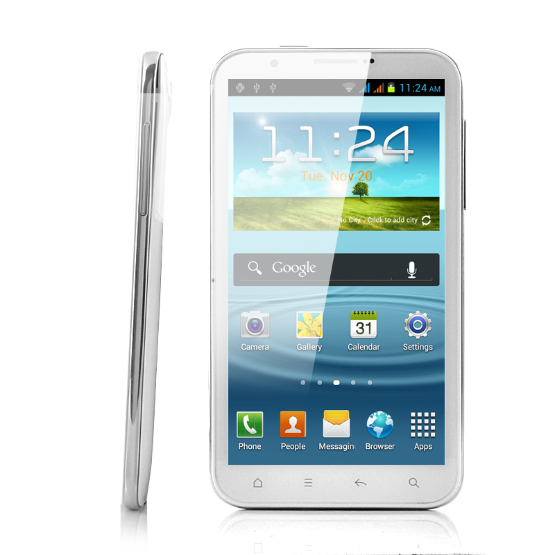 Wholesale GSM+WCDMA Android 4.0 3G Phone (6 Inch, Dual SIM, 1GHz Dual Core CPU)