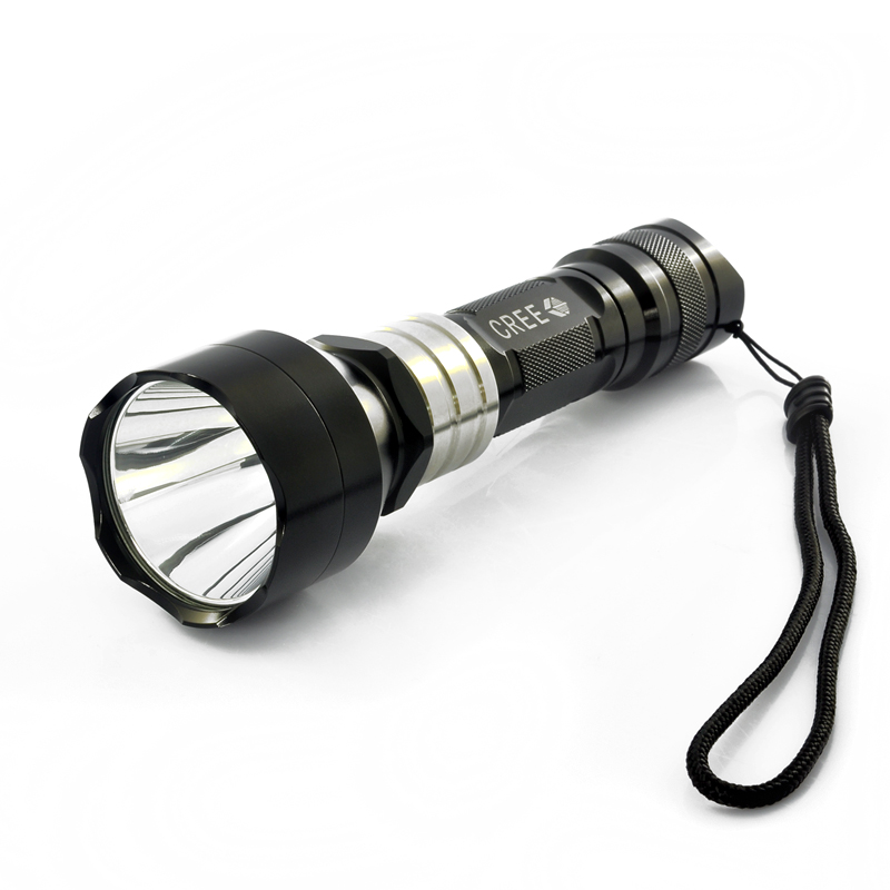 Super Bright Mini Cree Flashlight txr-g466 360 Lumens, All Metal Construction