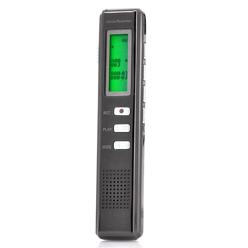 Ultra Small Digital Voice Recorder (Voice Activated, All Metal Design ...