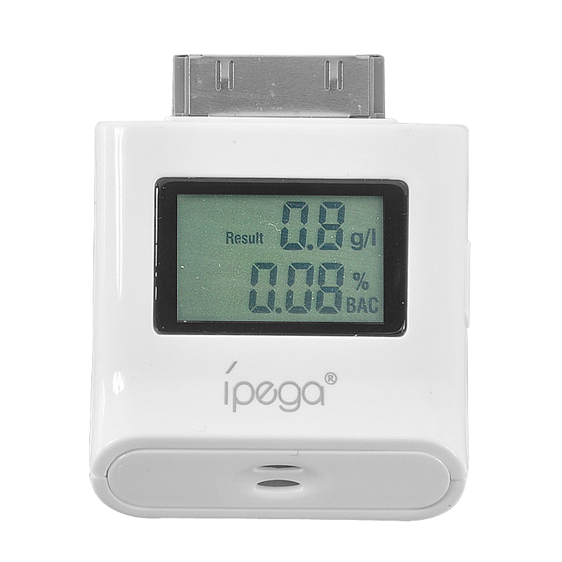 Wholesale Ipega - Compact LCD Breathalyzer for iPad, iPhone, iPod