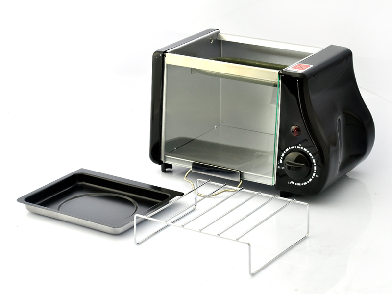 Electric Toaster Oven ~ Crunchy mini electric toaster oven watt power