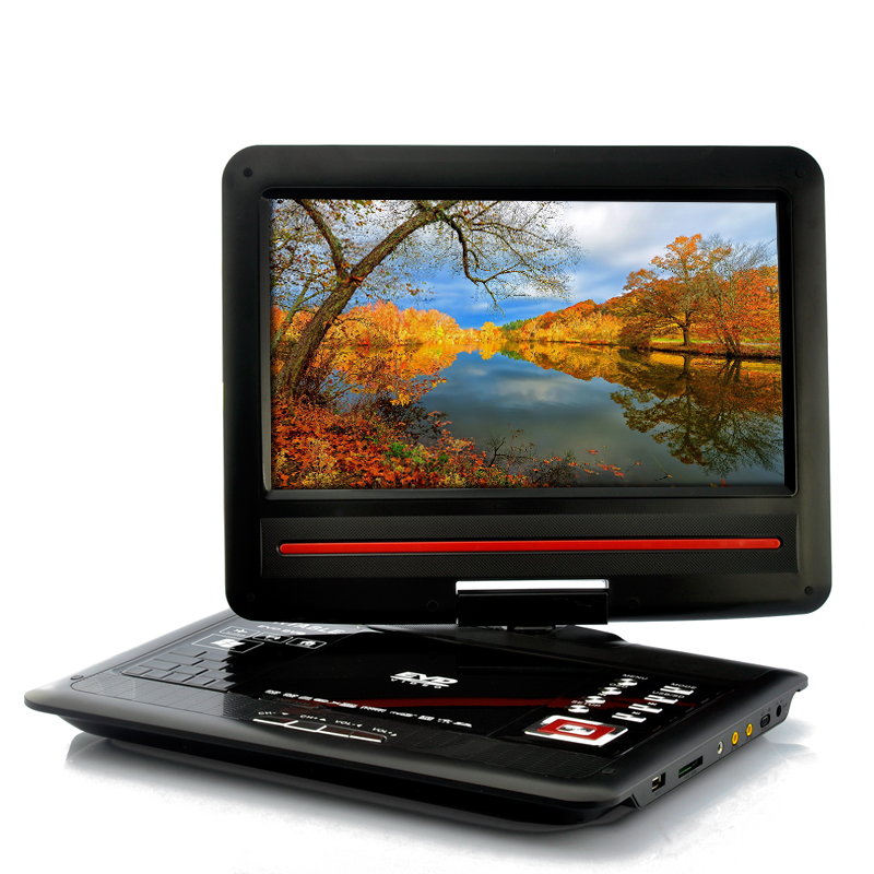 Wholesale 12.1 Inch Screen Region-free DVD Player with Analog TV (270 Degree Swivel Screen, Copy Function)