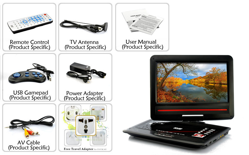 images/wholesale-electronics/Portable-12-1-Inch-Screen-DVD-Player-Copy-Function-270-Degree-Swivel-Screen-plusbuyer_9.jpg