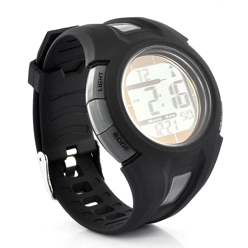 Wholesale Radio Controlled Sport Watch with Automatic Time Adjustment (Solar Powered, Waterproof)