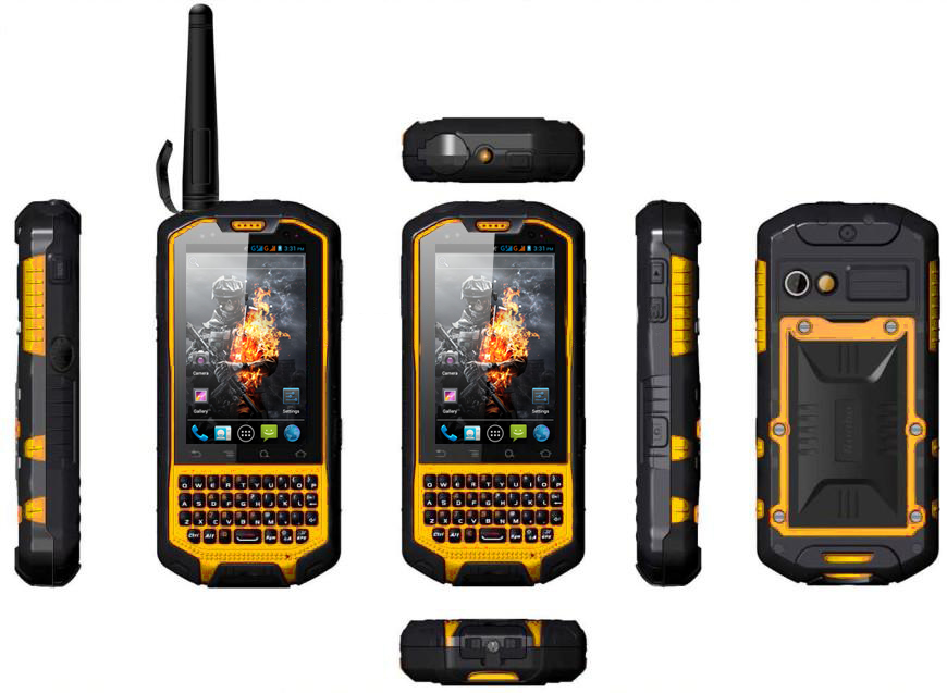 Runbo X3 Rugged Android 4 0 Phone With Walkie Talkie 5