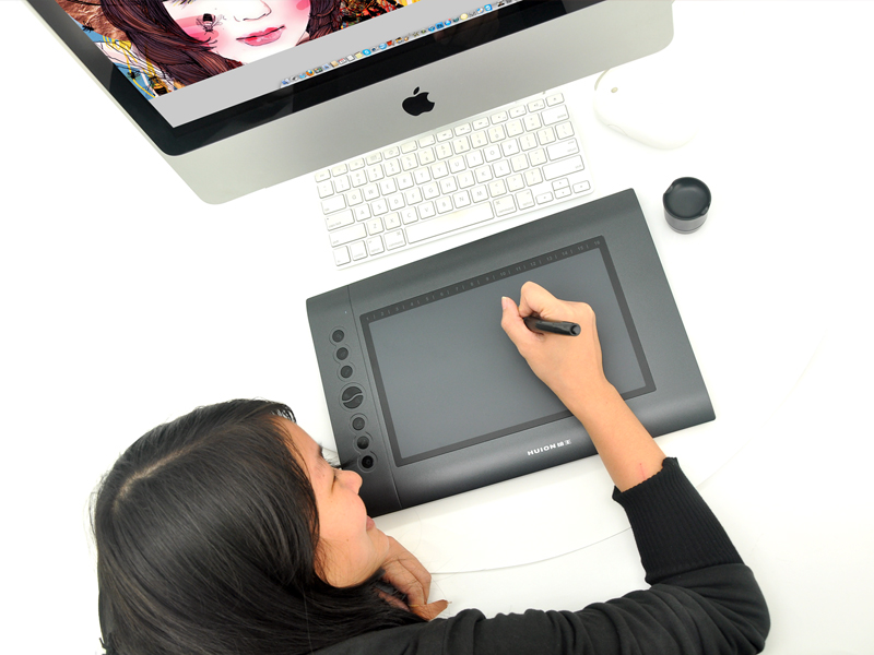Wholesale Huion H610 - Portable USB Graphics Drawing Tablet - 10 Inch x 6.25 Inch