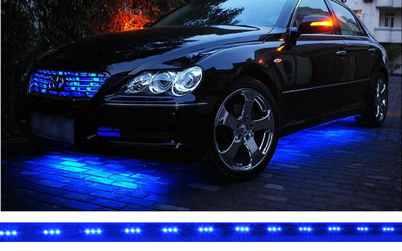 ... s ...  sc 1 st  China Wholesale Electronics & Under Car Blue LED Lighting Strips (15 Flash Modes Waterproof ...