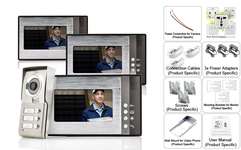 images/wholesale-electronics/Video-Door-Phone-Triga-3-Monitors-for-3-Separate-Households-Night-Vision-plusbuyer_91.jpg