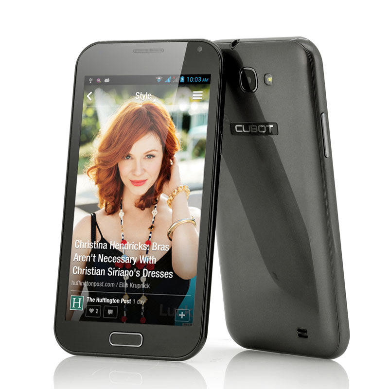 Wholesale Cubot - 5.3 Inch QHD Quad Core Android 4.2 Phone - Grey (1.2GHz, 1GB RAM, 8MP Camera)