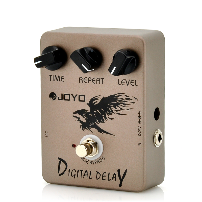 Wholesale Joyo JF-08 - Digital Delay Pedal with Analog Sound Reproduction