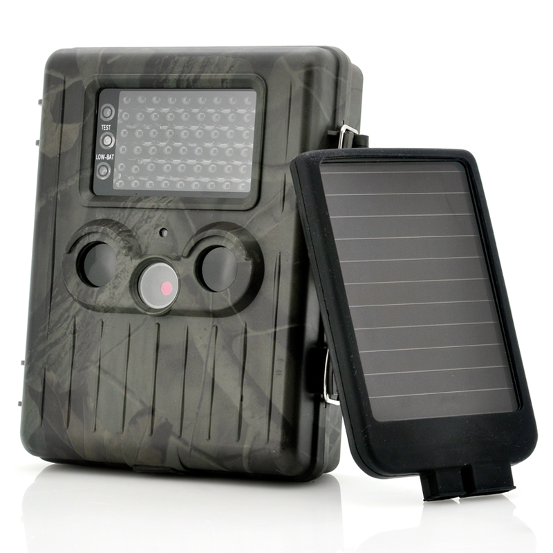 Wholesale SolarTrail - Solar Panel 1080p HD Game Camera (54 IR LEDs Night Vision, PIR Motion Detection, MMS)