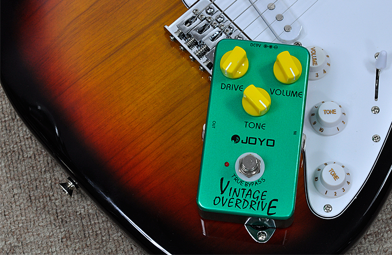joyo jf 01 overdrive guitar pedal with vintage distortion true bypass metal body taaa g526. Black Bedroom Furniture Sets. Home Design Ideas